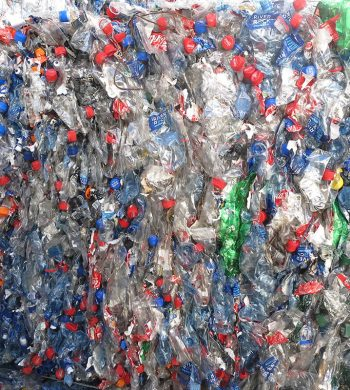 PET Bottles for Industrial Recycling